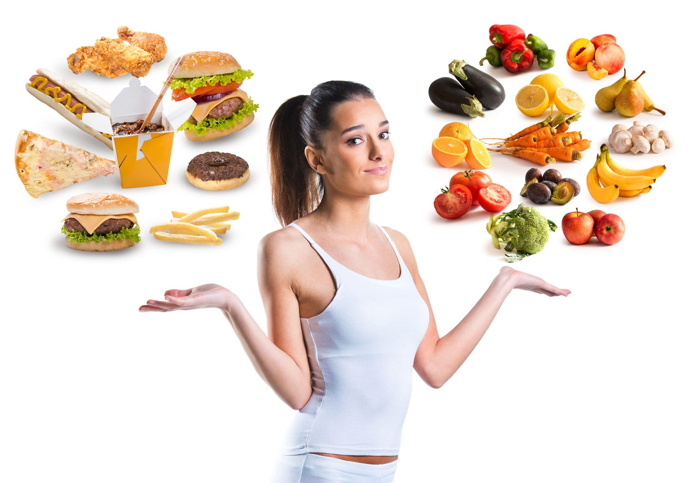 Здоровая питание похудеть
